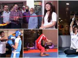 Fitness center named Fighting Fit Planet was inaugurated by Sub Divisional Officer Barkhal Pankaj Se