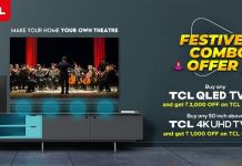TCL made Diwali shopping more rewarding for its customers; Started two special TV + sound bar combo offers at its official online store