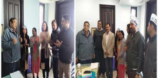 Renu Khatter and many people who have fought elections from Swaraj India Party, joined AAP party