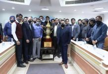 14th Manav Rachna Corporate Cricket Challenge Cup Unveiled