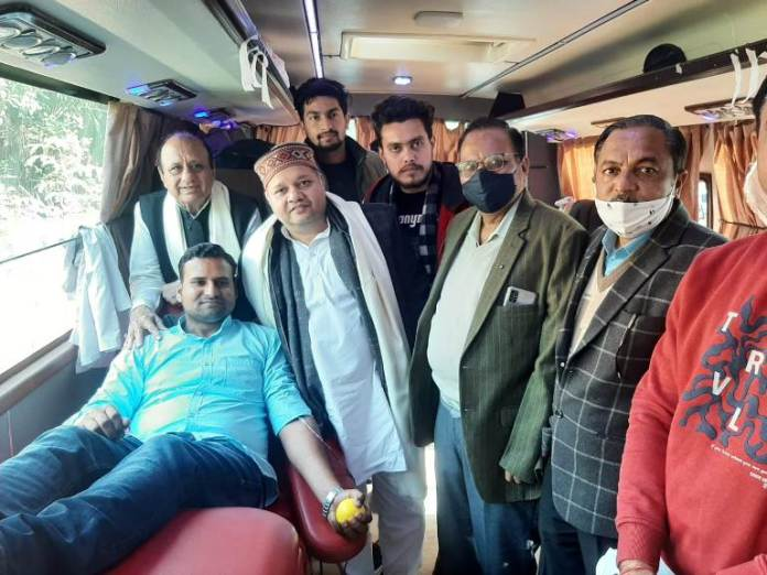NSUI Faridabad organizes blood donation camp on Dipendra Hooda's birthday