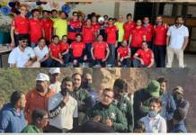 Aravali Yatra was organized at two different places by Save Aravali Trust