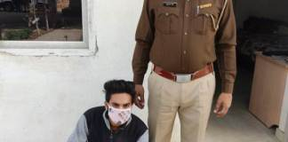 Crime Branch 85 team arrested Vikram, an accused who was absconding for two years in the case of snatching in Kotwali area