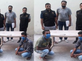 Crime Branch DLF area team arrested two accused for breaking the house and stealing