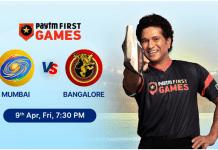 Mumbai vs Bangalore Paytm First Games