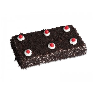 1 Kg Rectangular Black Forest Cake