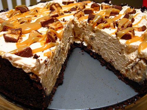 Snicker S Bar Pie Recipe Dishmaps