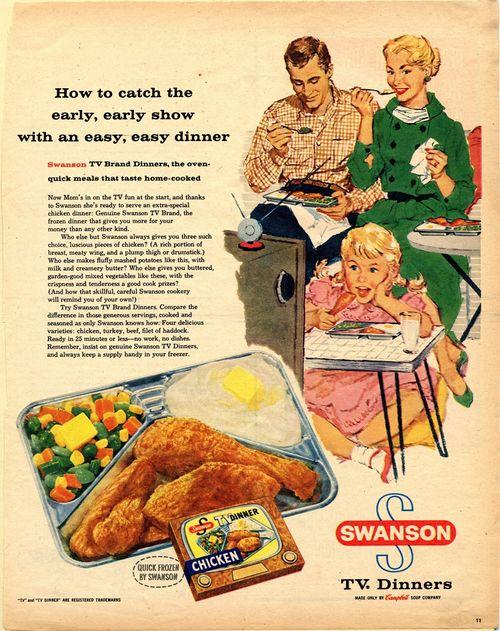 Peeling Back The Foil The Origin Of The TV Dinner