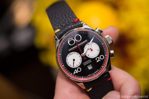 Часы Alexander Shorokhoff - хронограф в новом исполнении