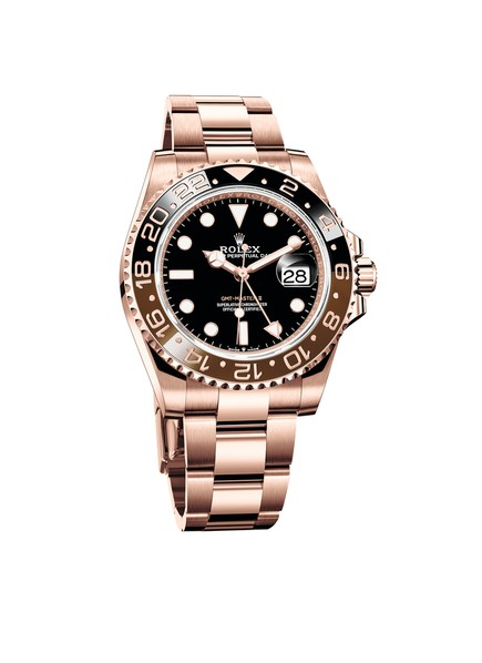 Rolex GMT-Master II 18 KARAT EVEROSE-GOLD