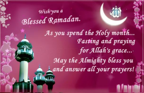 Ramadan Mubarak Quotes Wishes in English