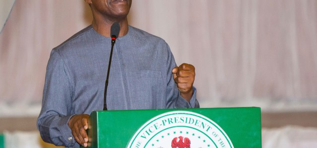 I didn't beg to be VP, I'm a priest, not a politician- Osinbajo