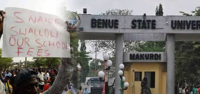 Image result for Benue students claim 'snake' swallowed their school fees