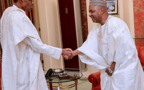 Ex-Vice President Sambo keeps mum after private meeting with Buhari