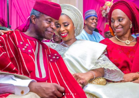 Photos from Damilola Osinbajo's engagement ceremony
