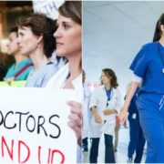 Doctors protest against salary increase in Canada