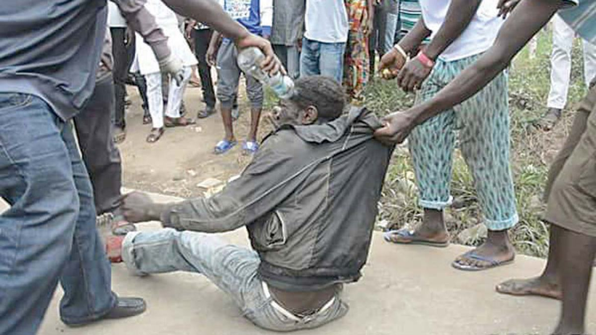 Man beaten up for allegedly 'stealing' a young man's manhood