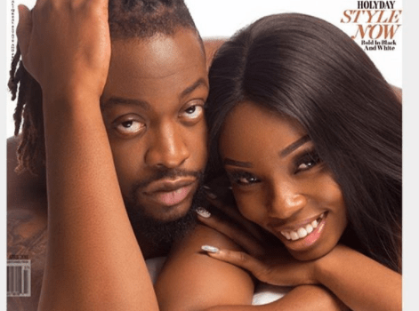 BBNaija lovebirds, Teddy A, BamBam cover House of Maliq April edition