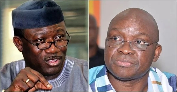 Fayemi  launches his campaign in Ekiti, says Fayose will end up in jail