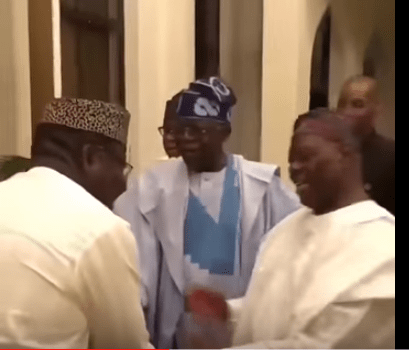 Ekiti: Fayemi meets Tinubu and Akande to plot APC takeover