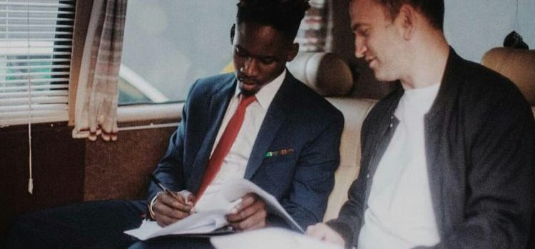 Mr Eazi pens licensing deal with Columbia records