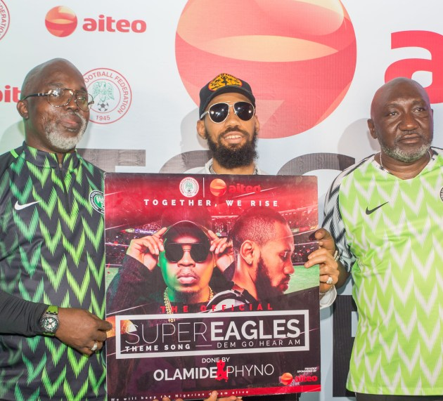Energy Giant, Aiteo, Sponsors Hit Theme Song for Nigeria's 2018 World Cup