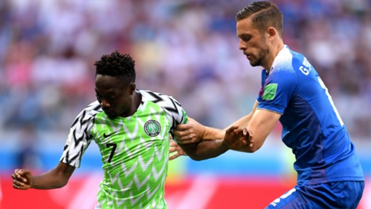 World Cup: Ahmed Musa scores brace as Nigeria thrashes Iceland 2-0