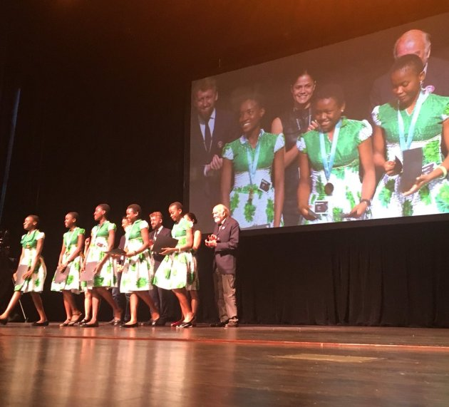 Five Nigerian girls beat participants from 50 countries to win $10,000 App Award at Technovation World Challenge