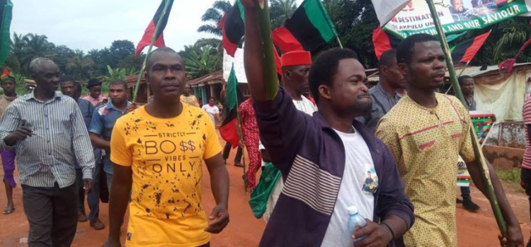 IPOB sit at home: Military takes over Onitsha