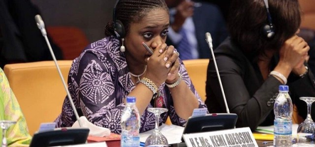 Breaking: Adeosun resigns amidst NYSC certificate scandal