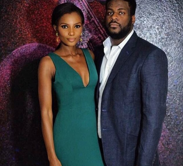 Agbani Darego and husband welcome their first child, a boy