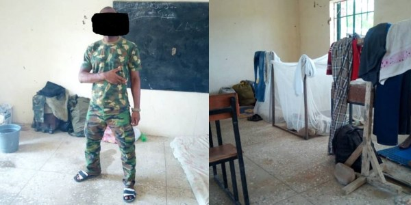 Nigerian soldiers fighting Boko Haram beg for food, wear slippers to war front