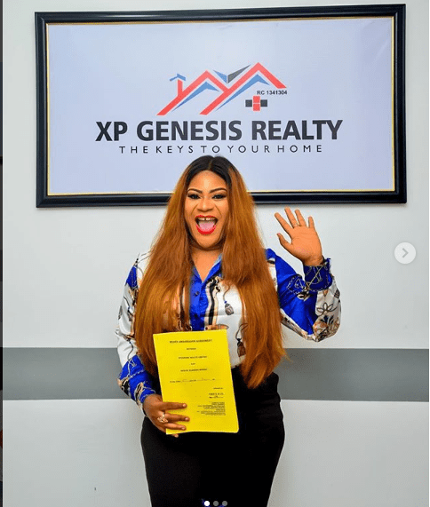 Actress, Nkechi Blessing becomes Brand Ambassador to Real Estate Company
