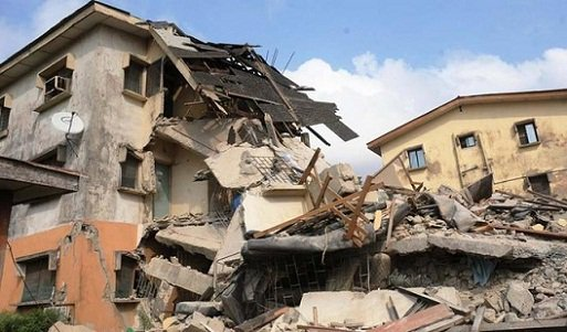 Expatriates trapped as 3-storey building collapses in Anambra