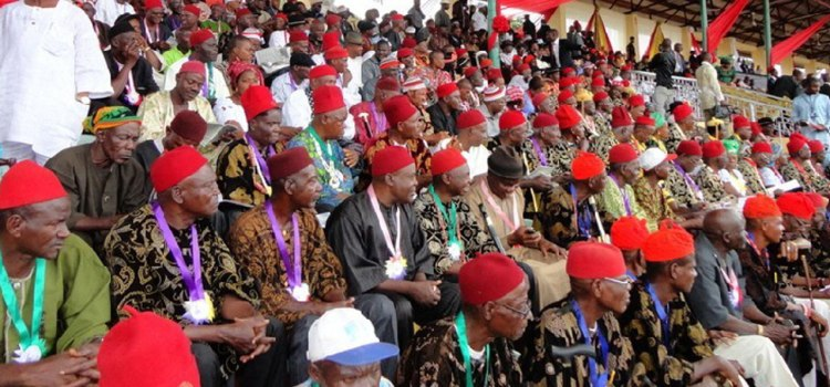 Igbo traditional rulers set to abolish Osu cast system