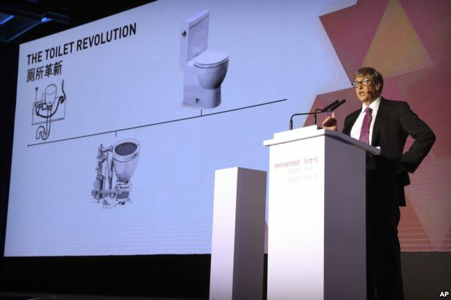 From tech guru to plumber? Bill Gates reinvents the toilet