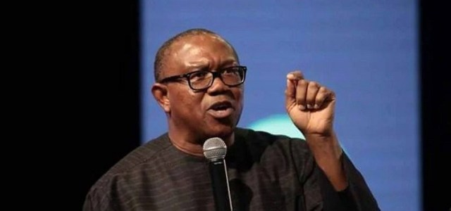 fighting corruption is not an economic policy; it's a disaster : Peter Obi