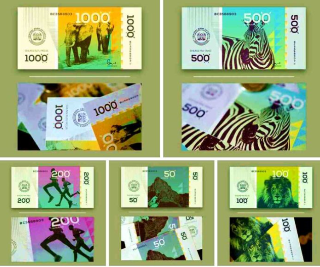 Kenyan president unveils new currency, which costs over N38 billion to print
