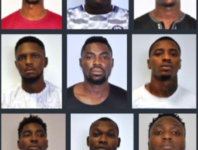 EFCC arrests 9 Yahoo-Yahoo boys in Abuja (Photos)