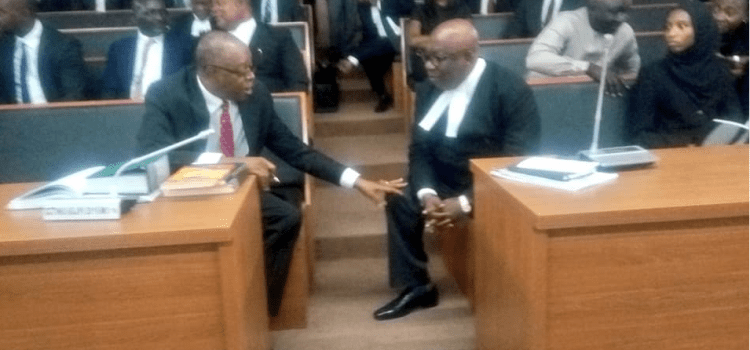 Non declaration of assets: CCT adjourns Onnoghen's trial to January 22