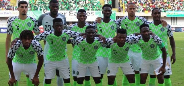 Nigeria drop to 46th place on latest FIFA ranking