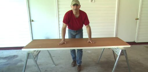 How To Build A Portable Workbench From A Hollow Core Door