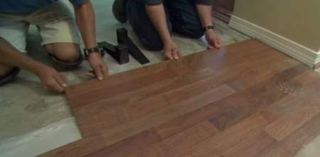 How to Install Laminate Flooring   Today s Homeowner Installing laminate flooring