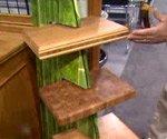 bamboo floor countertop