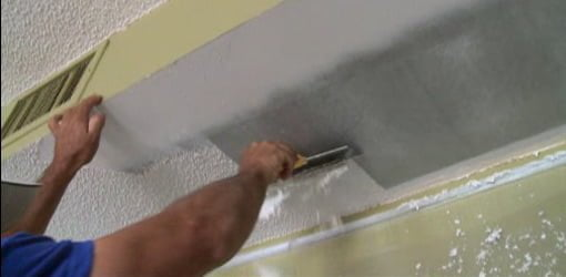 Tips for DIY Textured Popcorn Ceiling Removal Todays Homeowner