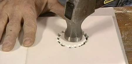 How to Drill a Large Hole in Tile   Today s Homeowner How to Drill a Large Hole in Tile