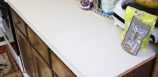 How to Apply Faux Granite Kitchen Countertop Paint | Today ...