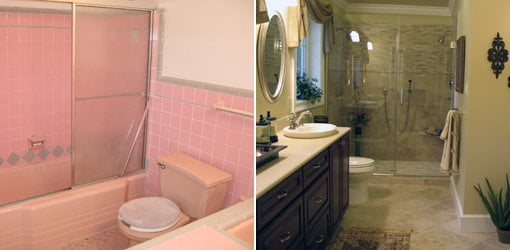 1950s Bathroom Remodel Before And After bathroom remodel before and after design inspirations | postku
