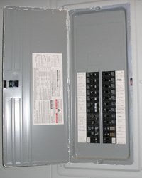 Home Wiring 101  Dealing with Circuit Breakers and Fuses   Today s     Home electrical service panel