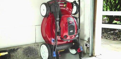 Toro SmartStow Vertical Storage Lawn Mower Todays Homeowner